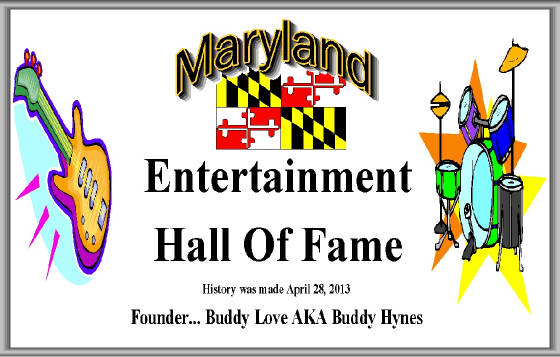 Charter Member ~ MD Entertainment Hall Of Fame